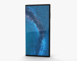 3D model of Huawei Mate X Interstellar Blue