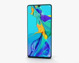 3D model of Huawei P30 Pro Aurora