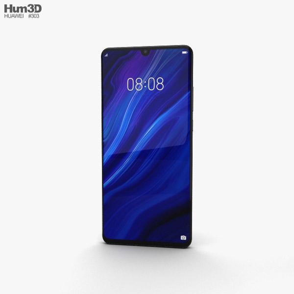 Huawei P30 Pro Black 3D model