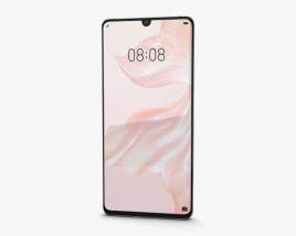 3D model of Huawei P30 Pro Pearl White