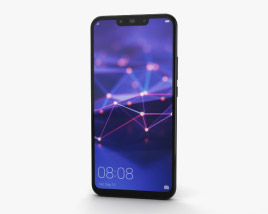 3D model of Huawei Mate 20 lite Black