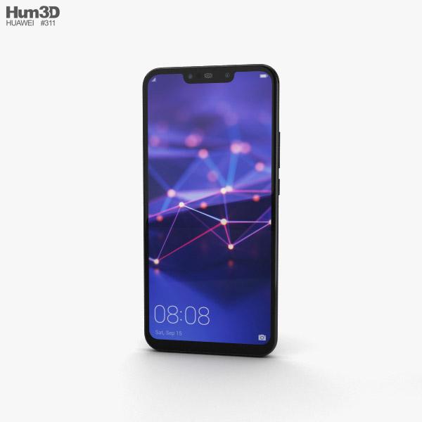 Huawei Mate 20 lite Black 3D model