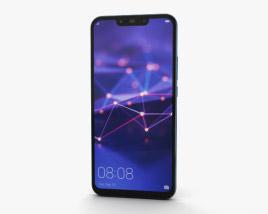 3D model of Huawei Mate 20 lite Sapphire Blue
