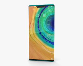 3D model of Huawei Mate 30 Pro Emerald Green