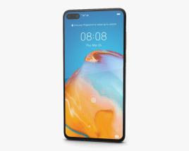 Huawei P40 Blush Gold 3D model