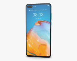 3D model of Huawei P40 Deep Sea Blue