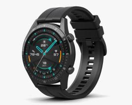 3D model of Huawei Watch GT 2 Black