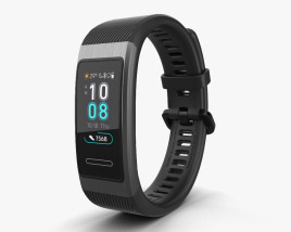 3D model of Huawei Band 3 Pro Black