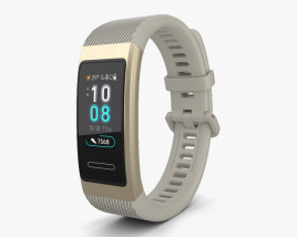 3D model of Huawei Band 3 Pro Gold