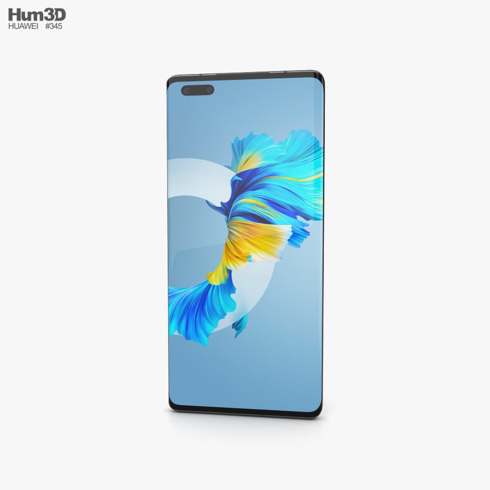 Huawei Mate 40 Pro Black 3D model