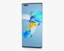 Huawei Mate 40 Pro White 3D model