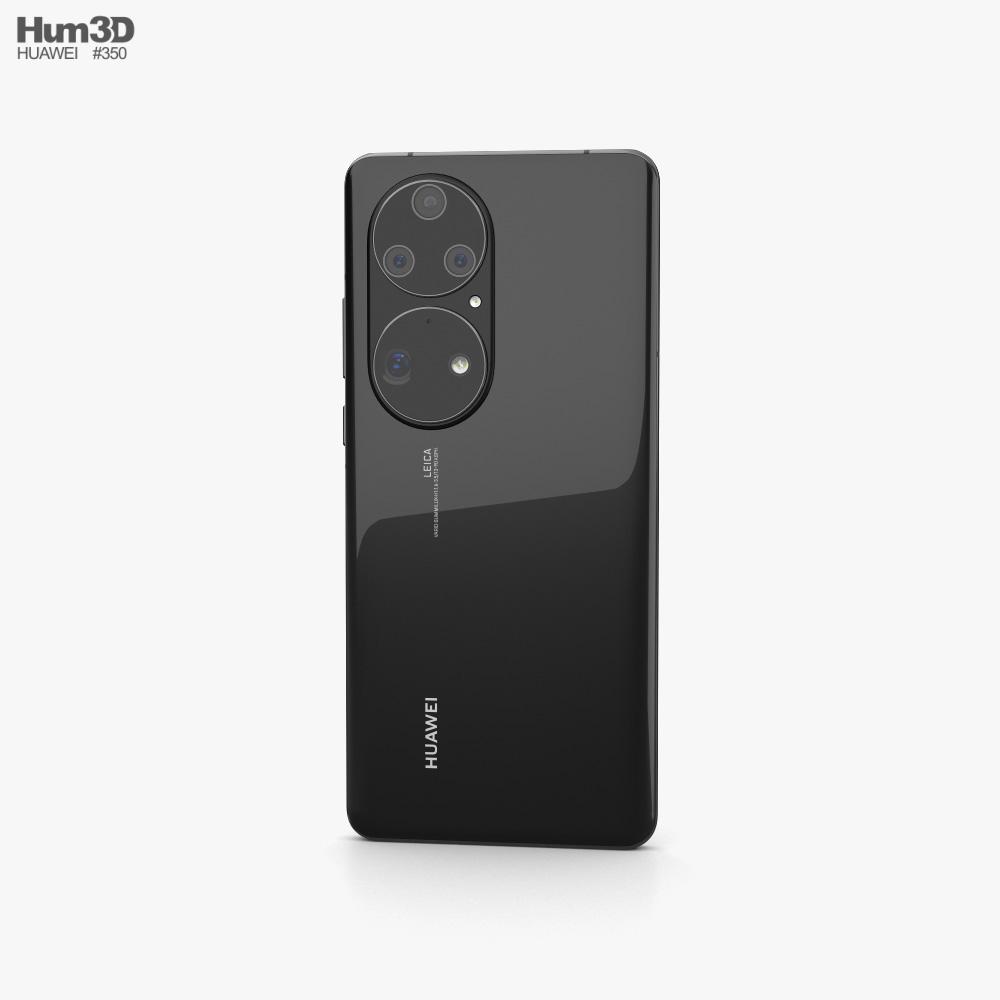 Huawei P50 Pro Black 3d model