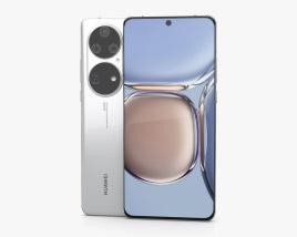 Huawei P50 Pro White 3D model
