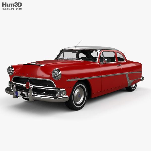 3D model of Hudson Hornet 2-door 1954