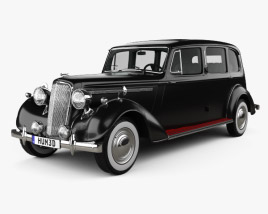 3D model of Humber Pullman Limousine 1945