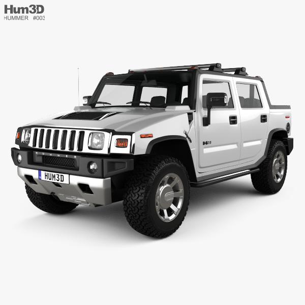 Hummer H2 SUT 2011 3D model