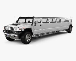 Hummer H2 Limousine 2010 3D model