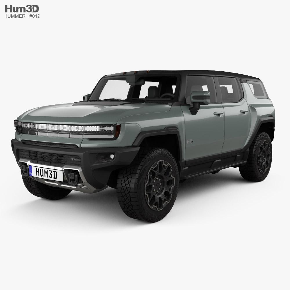 GMC Hummer EV SUV 2023 3D model