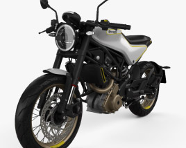 3D model of Husqvarna 401 Vitpilen 2017
