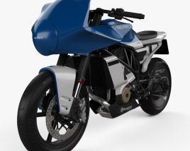 3D model of Husqvarna Vitpilen 701 aero 2019