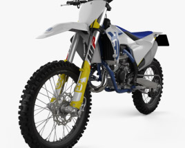3D model of Husqvarna TC 125 2020
