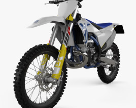 3D model of Husqvarna TC 250 2020