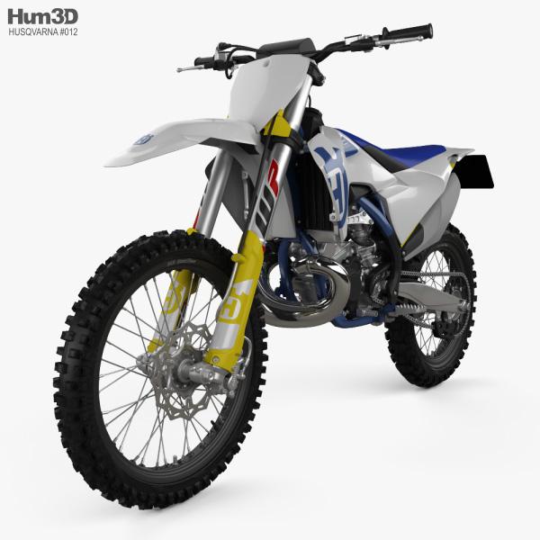 3D model of Husqvarna TC 250 2020