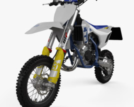 3D model of Husqvarna TC 50 2020