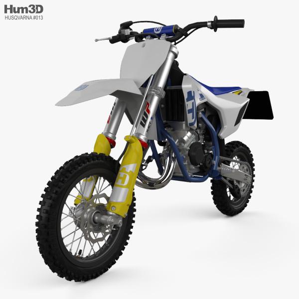 3D model of Husqvarna TC 50 2020