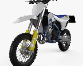 3D model of Husqvarna TC 65 2020