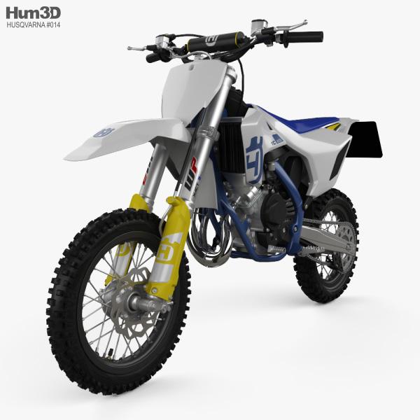 3D model of Husqvarna TC 65 2020