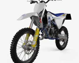 3D model of Husqvarna TC 85 2020