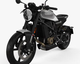 3D model of Husqvarna Vitpilen 701 2019