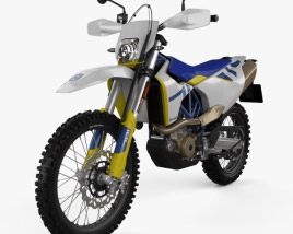 3D model of Husqvarna 701 Enduro 2020