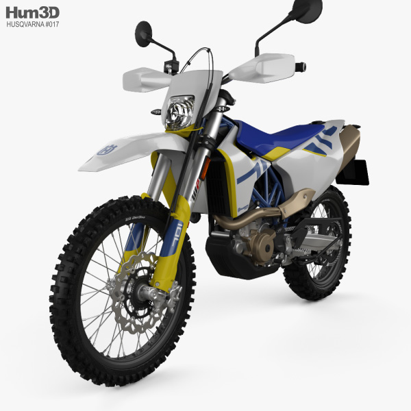 Husqvarna 701 Enduro 2020 3D model
