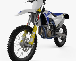 3D model of Husqvarna FC 450 2020