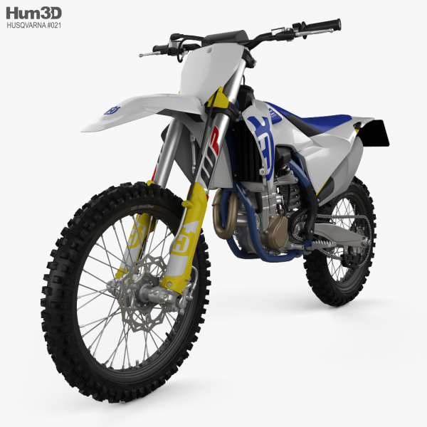 3D model of Husqvarna FC 450 2020