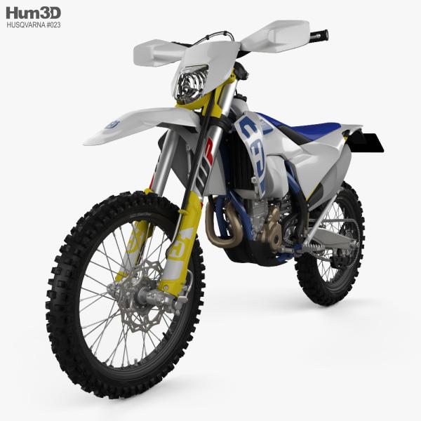 3D model of Husqvarna FE 350 2020