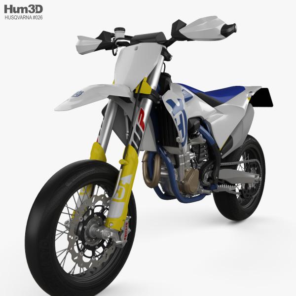 3D model of Husqvarna FS 450 2020