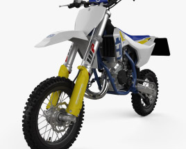 3D model of Husqvarna TC 50 2016