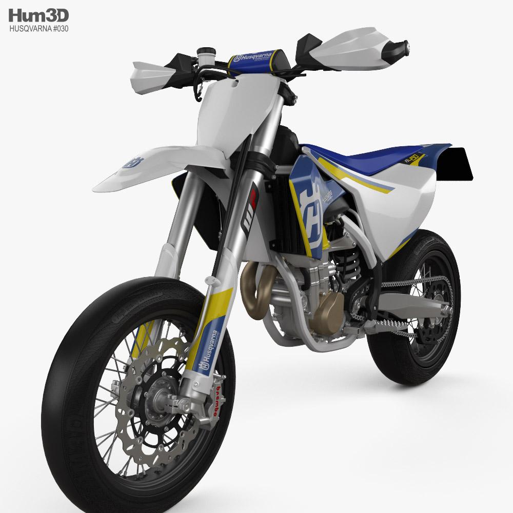 Husqvarna FS450 2016 3D model