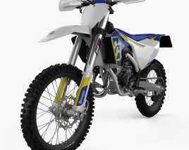 3D model of Husqvarna TC125 2016