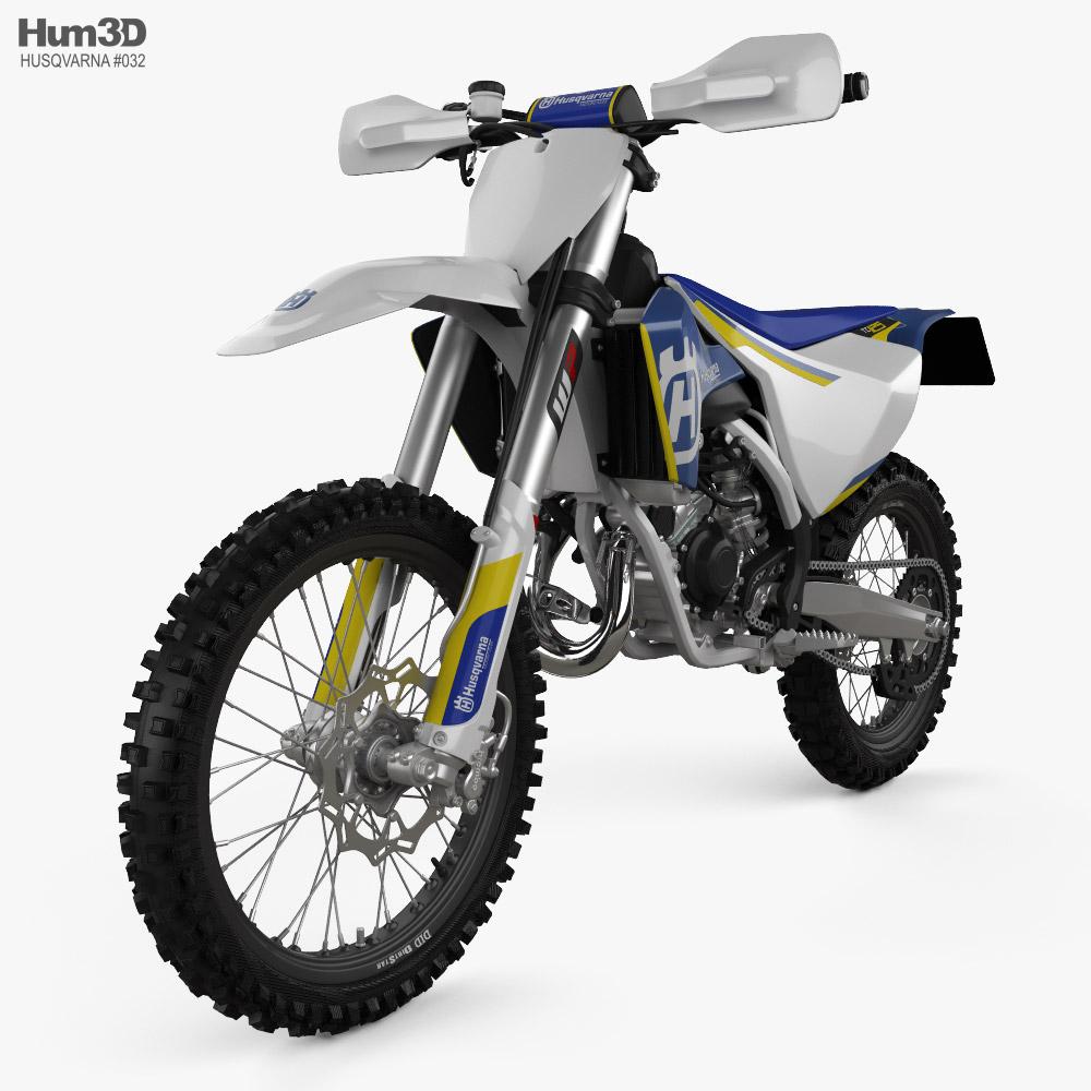 Husqvarna TC 125 2016 3D model