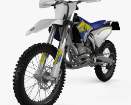 3D model of Husqvarna TC250 2016