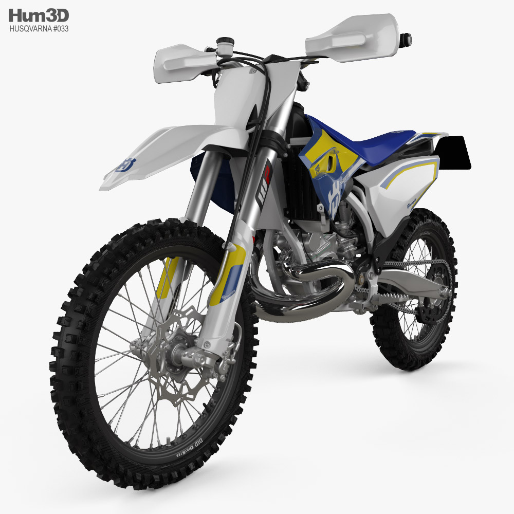 Husqvarna TC 250 2016 3D model