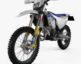 3D model of Husqvarna TE125 2017