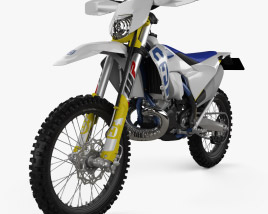 3D model of Husqvarna TE250i 2020