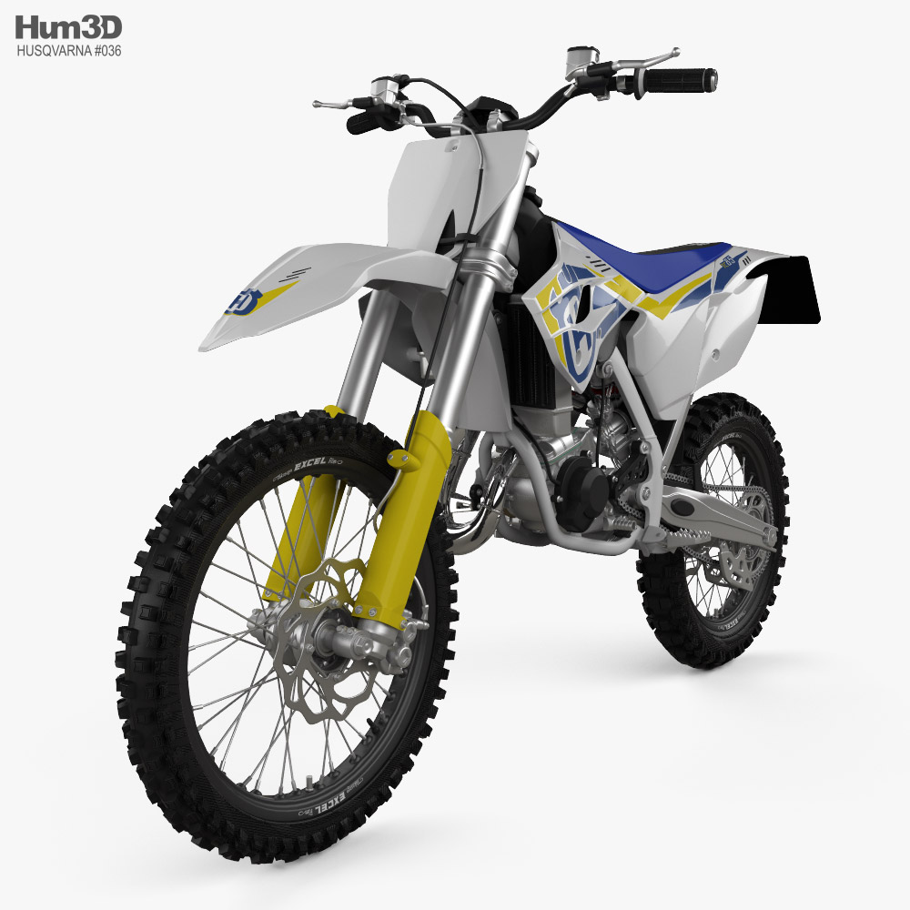 Husqvarna TC 85 2014 3D model