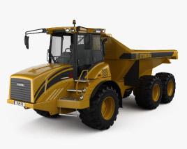 3D model of Hydrema 922D Dump Truck 2016