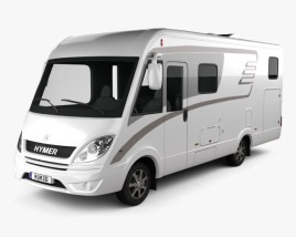 3D model of Hymer ML-I Bus 2015